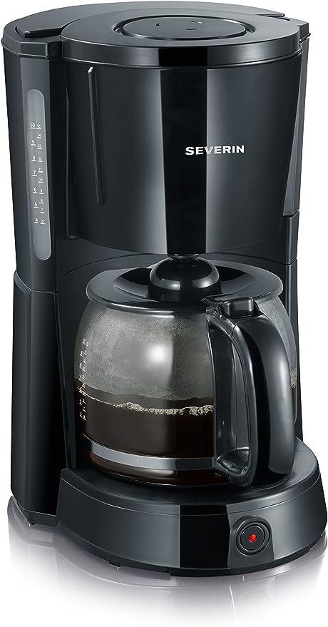 SEVERIN KA 4491 Cafetera Select para filtros de Café Molido, 10 ...