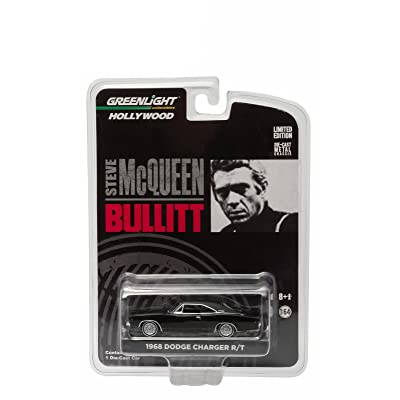 1968 Dodge Charger R/T from The Movie Bullitt Greenlight Collectibles 1:64 Scale Hollywood Series 3 Die Cast Vehicle: Toys & Games