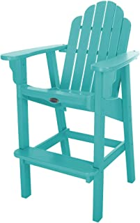 product image for Nags Head Hammocks Classic Bar Dining Chair, Turquoise