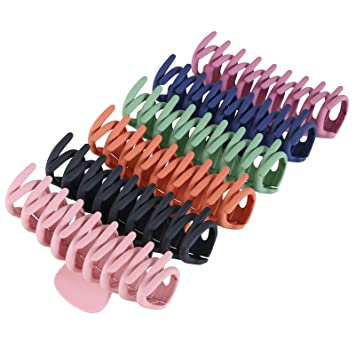 Details about  /Styling Hair Clamps Geometric Banana Clip Large Square Acrylic Hair Clips