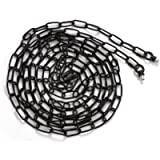Eumyviv 19ft Heavy Duty Chain for Light Fixture, Pendant Light Extra Chain Permits Installation of Chain-Hung Fixtures…