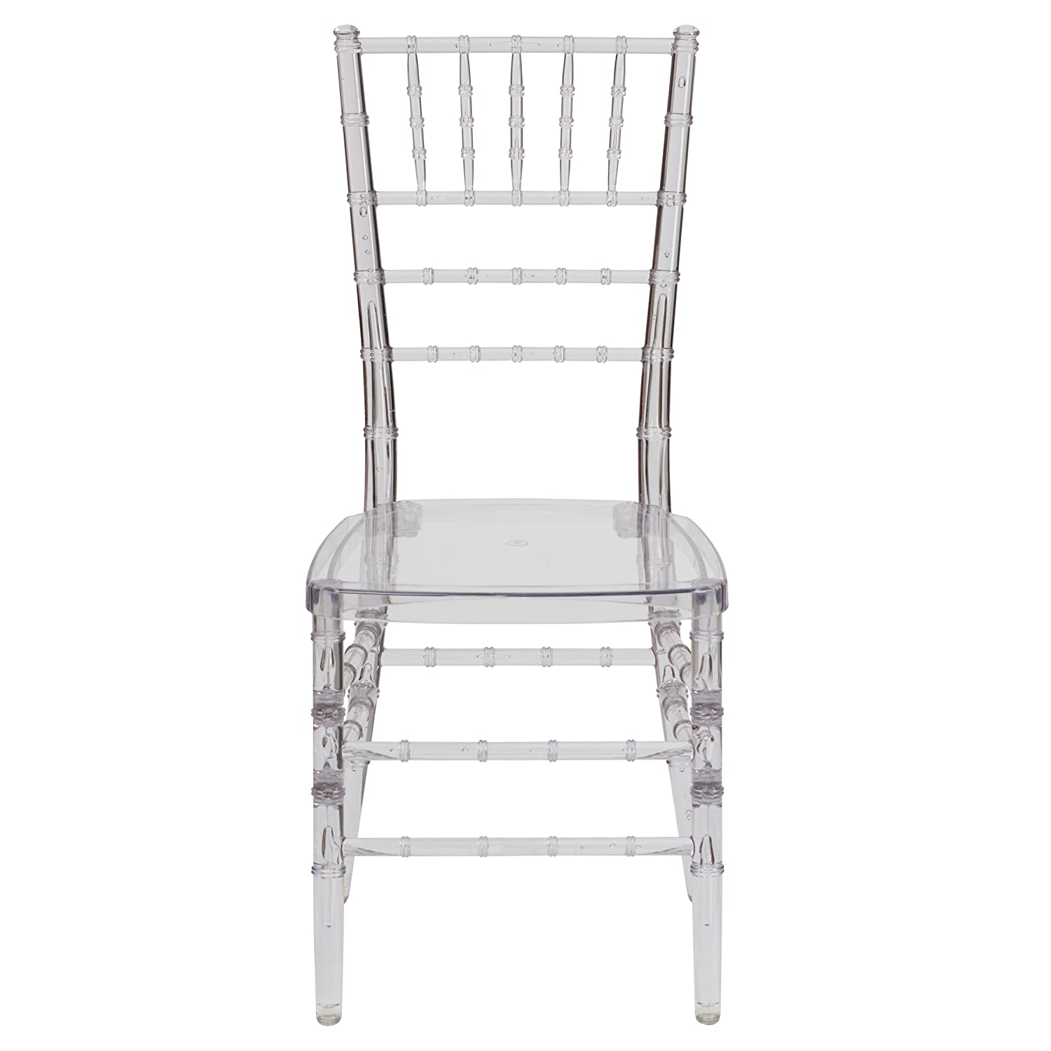 Amazon.com: Flash Furniture Flash Elegance Crystal Ice Stacking Chiavari  Chair: Kitchen U0026 Dining