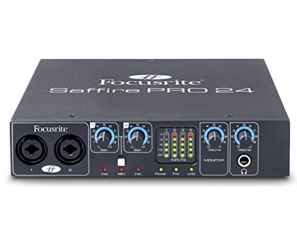 Focusrite Saffire Mix Control FireWire Audio Interface Vista