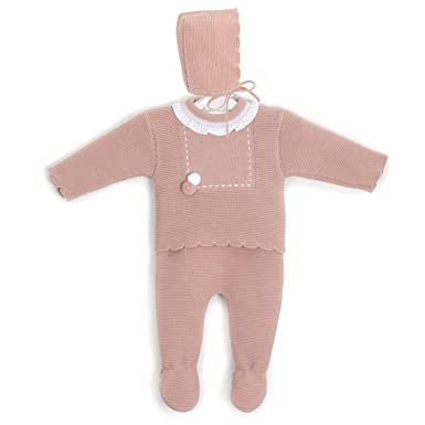 ca8f959912a78 Aiana Larocca Knitted Baby Clothes Set with Extra-Soft 100% Dralon | Pants,