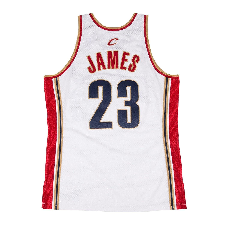 Amazon.com   Mitchell   Ness Lebron James 2003-04 Authentic Jersey  Cleveland Cavaliers   Sports   Outdoors e829e2291