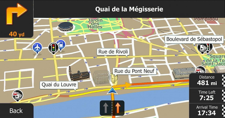 Igo Primo D Car Gps Navigation Software With Usacanada Maps Igo Primo Usa Maps Download