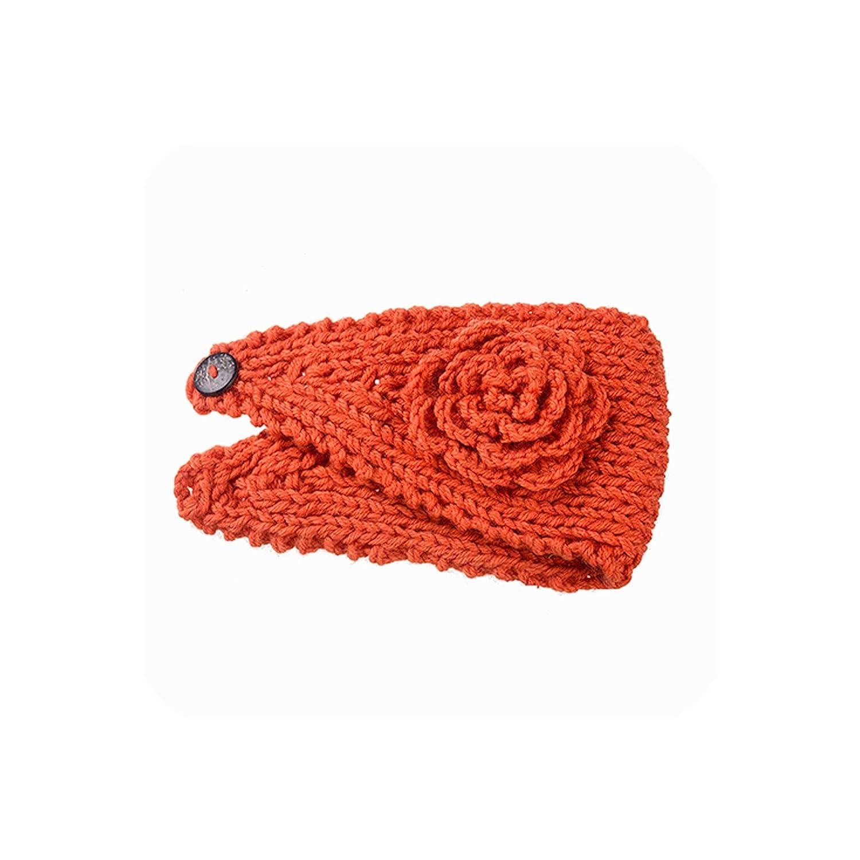 Knitting Flower Hair Band...