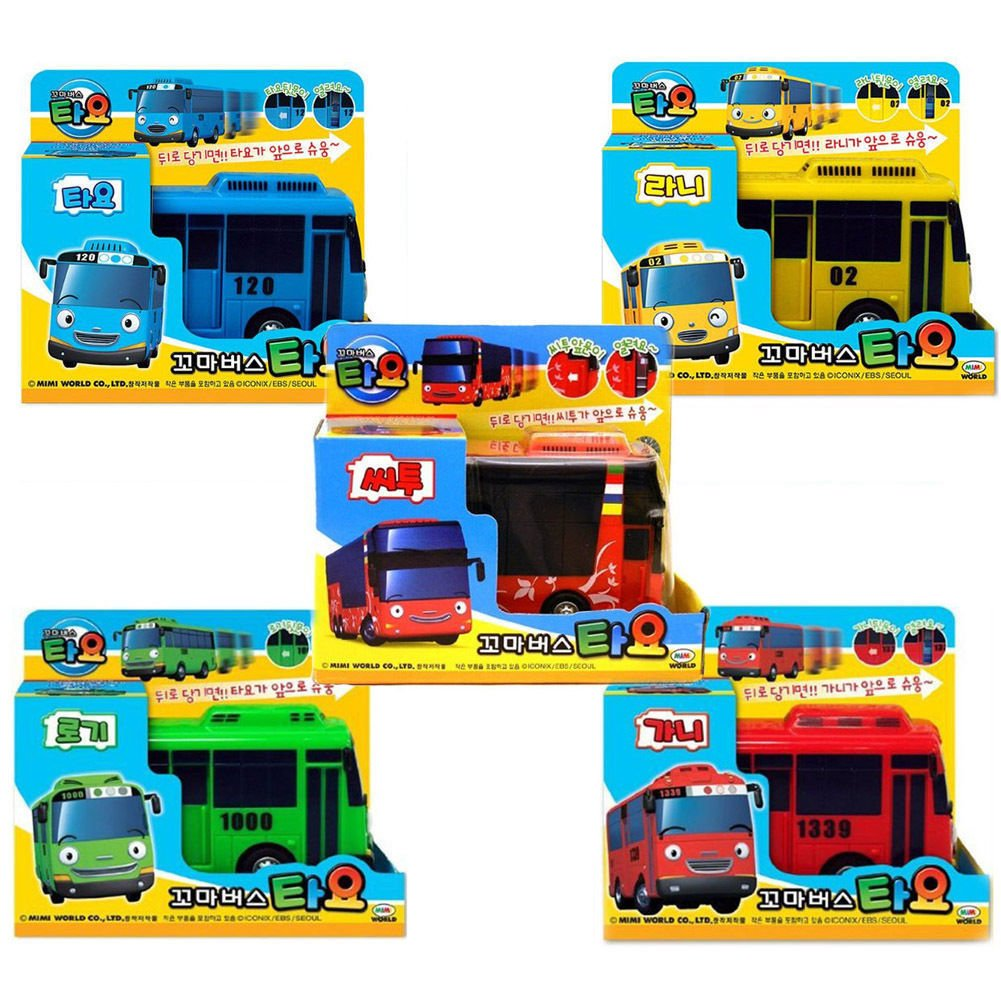 N Tayo the Little Bus Pull Back Toy Bus Citu TOY
