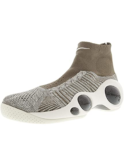 845204f593cd Nike Men s Mesh Flight Bonafide Lifestyle Dark Mushroom Pale Grey Sneakers  - 10. Roll over image to zoom in