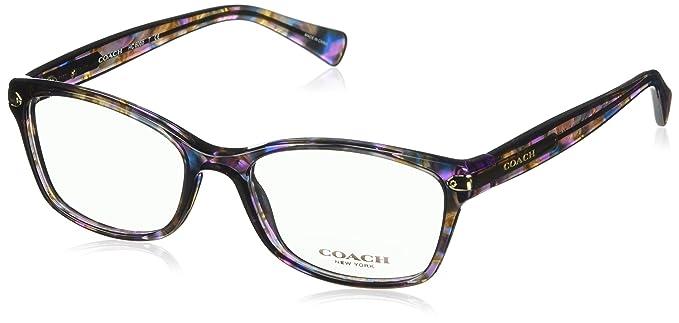 7666ba76e43 COACH HC 6065 Eyeglasses 5288 Confetti Purple 51-17-135  Amazon.co.uk   Clothing