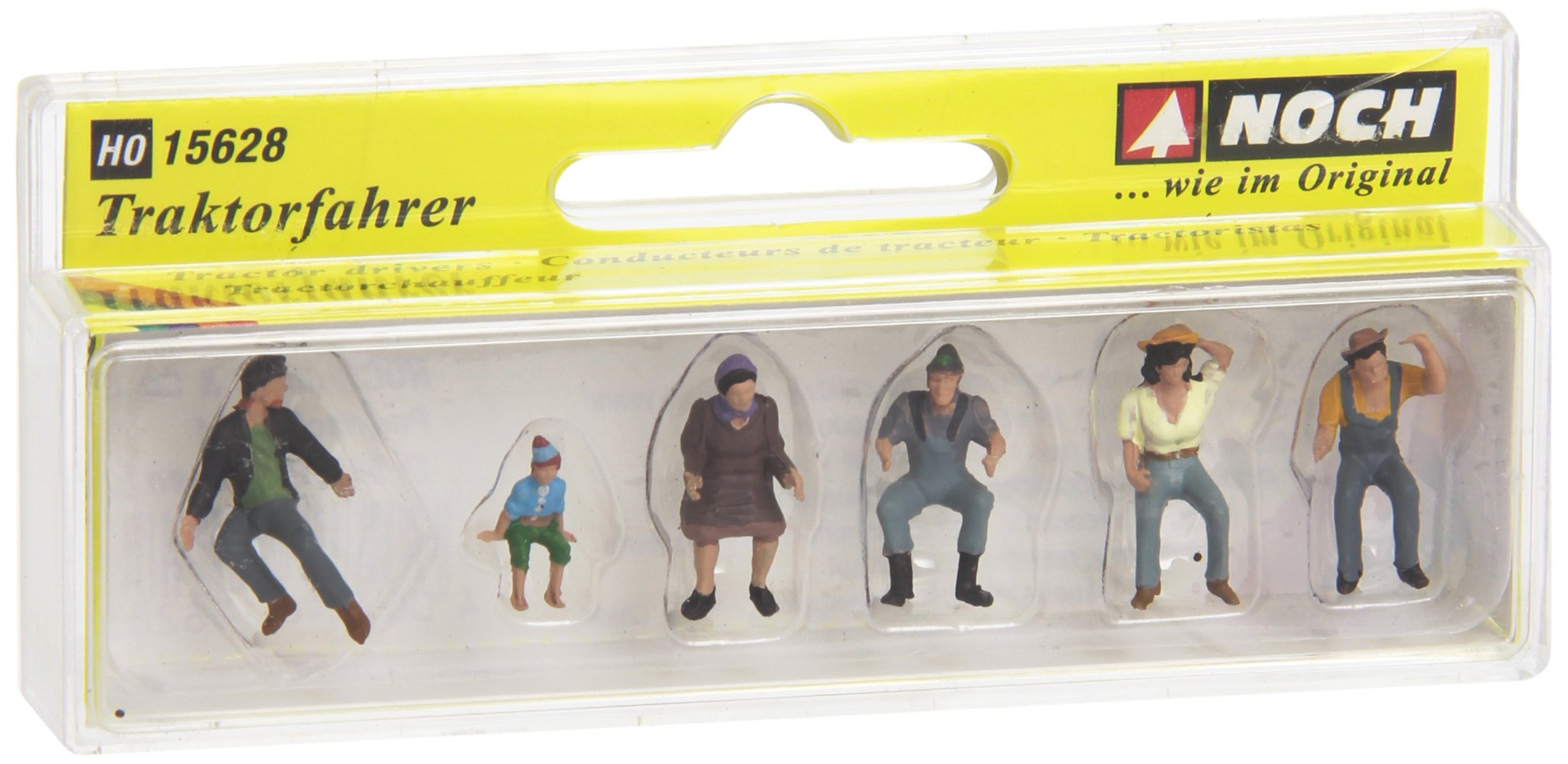 Noch 15628 Tractor Drivers 6/ H0 Scale  Figures