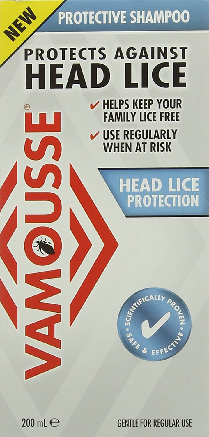 Vamousse 200 ml Head Lice Protection Shampoo CEUTA (UDG ONLY) 3882768