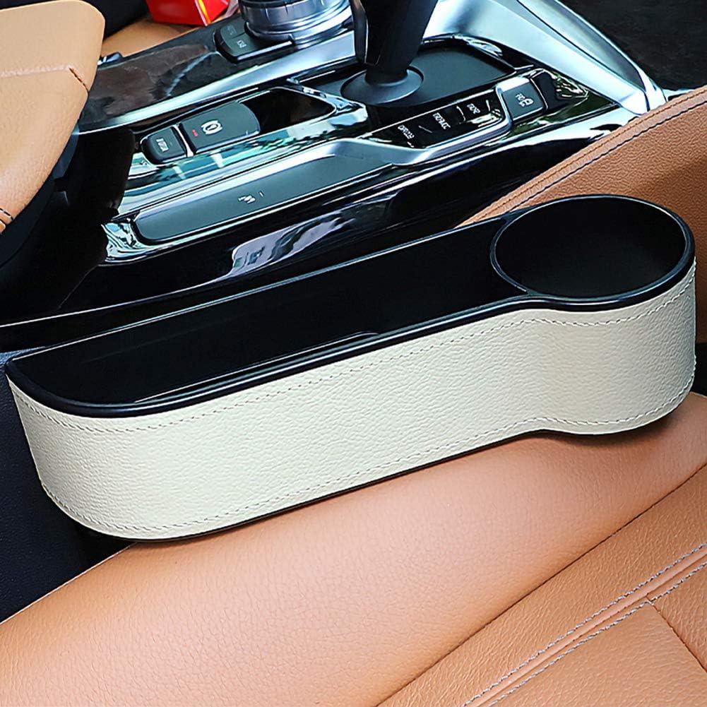 ggaggaa Auto aufbewahrungsbox veranstalter Sitz l/ücke kunststoffkoffer Tasche Seite f/ür Telefon m/ünzen schl/üssel