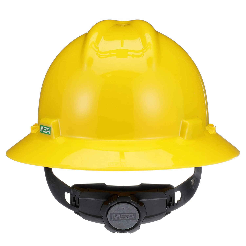 1 Standard MSA V-gard capuchon et chapeaux Bright Lime Green