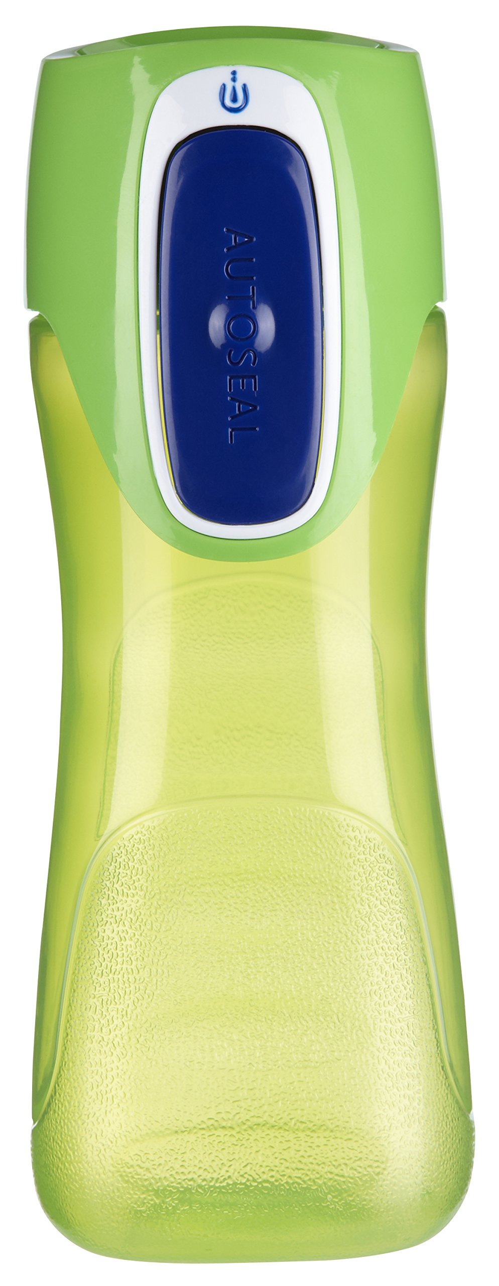 Contigo AUTOSEAL Trekker Kids Water Bottles, 14 oz, Granny Smith & Nautical, 2-Pack by Contigo (Image #2)