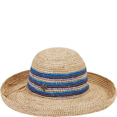 b4e14b74c36f9 Amazon.com  Sun  N  Sand Natural Raffia Finely Crocheted (A-Blue)  eBags