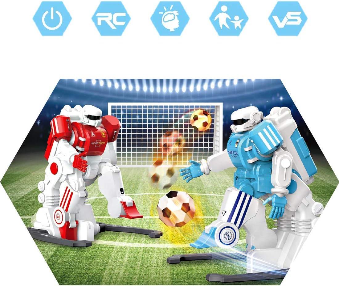 deAO RC Partido de Futbol Robótico Conjunto de 2 Robots Jugadores ...