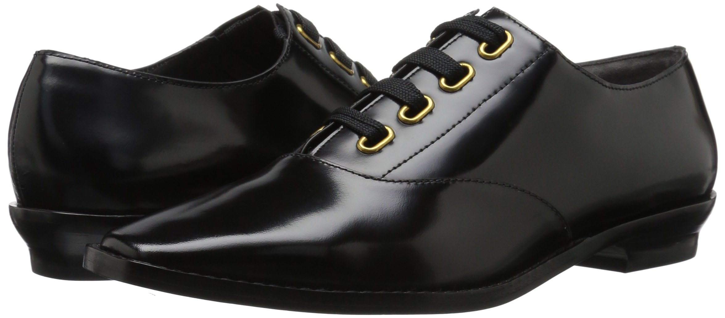 Marc Jacobs Women's Brittany Lace up Oxford, Black, 37 M EU (7 US) by Marc Jacobs (Image #6)