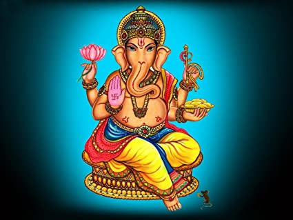 online center lord ganesha shree ganesh shri ganpati hd wall poster