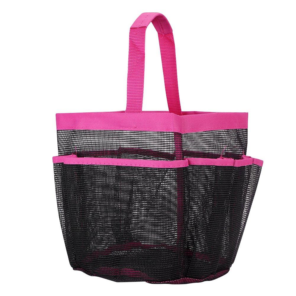 IBLUELOVER Shower Caddy Tote Felt Insert Purse Organizer Multi Pocket Bag in Bag Handbag Toiletry and Bath Organizer