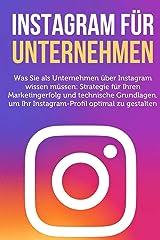 Instagram fuer Unternehmen (German Edition) Kindle Edition