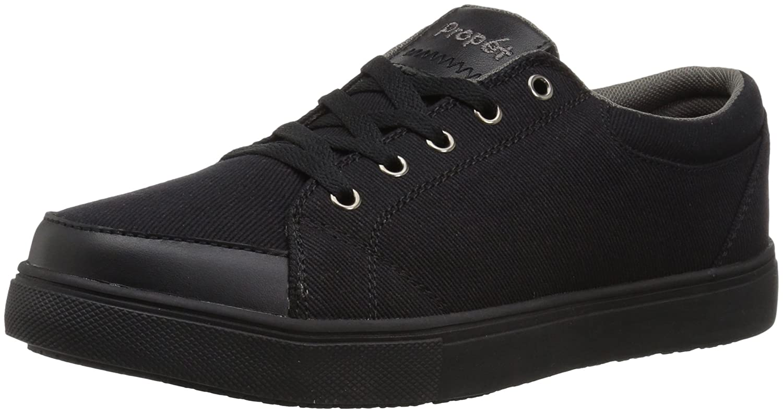 Propet Aris Skate Shoe B073HGP8XZ 12 4E US|Black