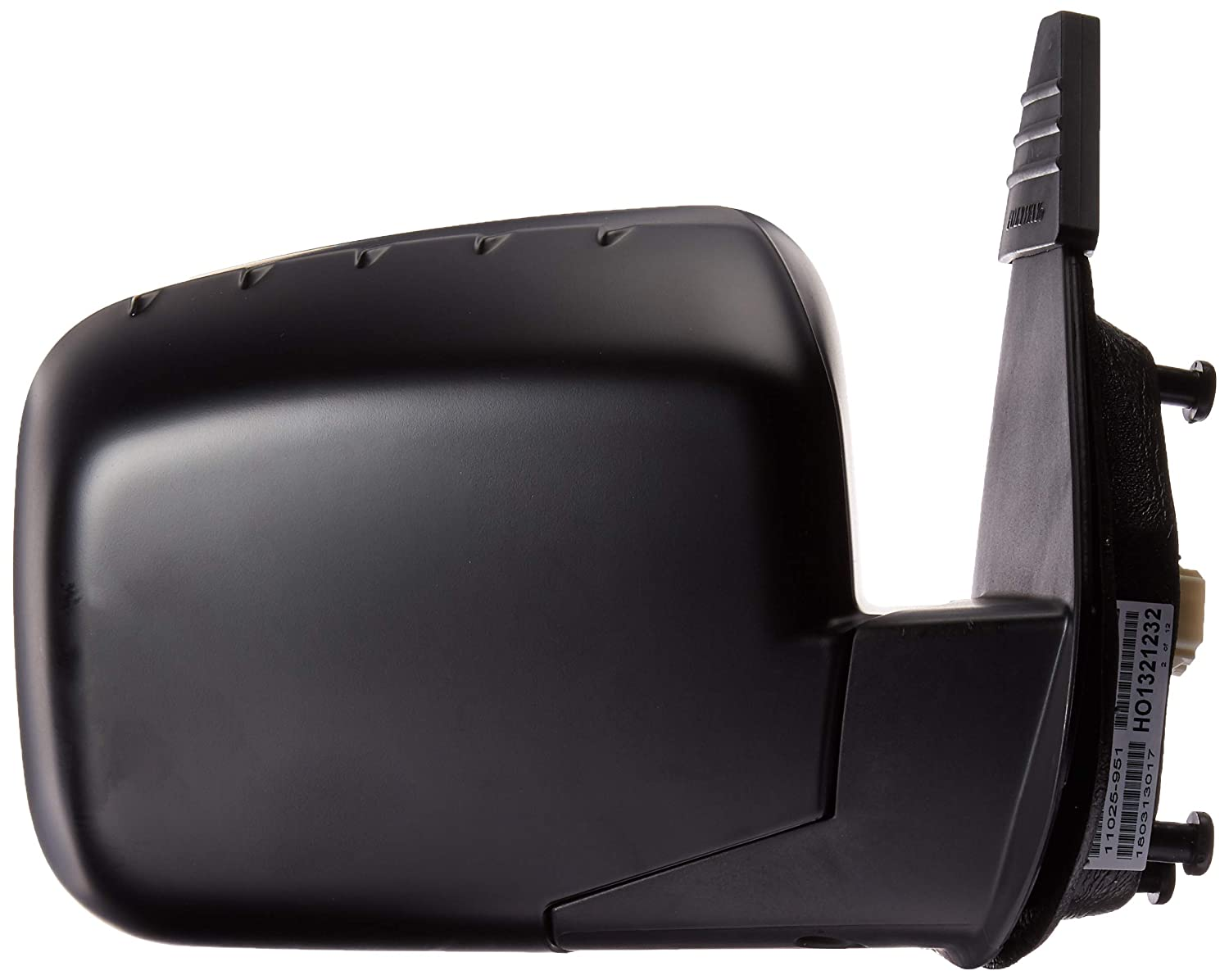 Partslink Number HO1321232 OE Replacement Honda Ridgeline Passenger Side Mirror Outside Rear View