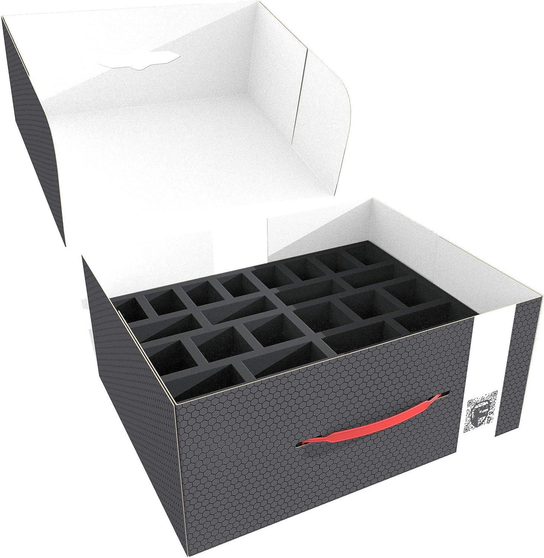 Feldherr Storage Box for Large Based Miniatures: Amazon.es: Juguetes y juegos