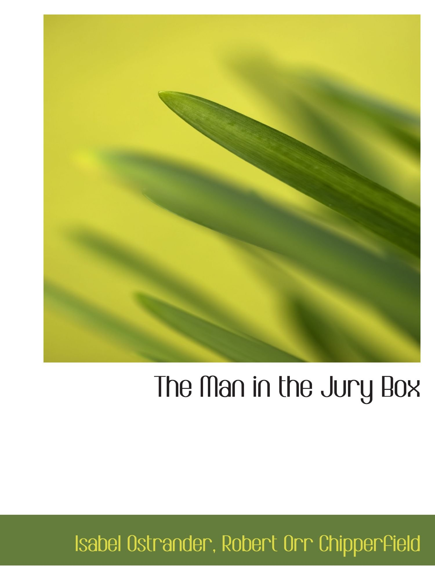 Download The Man in the Jury Box ebook