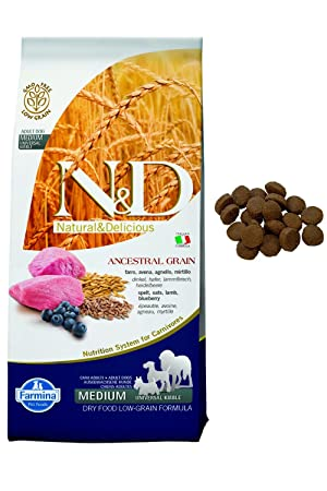Farmina - Farmina N&D Cordero y Arandano Adult Medium Low Grain - 1069 - 12 Kg