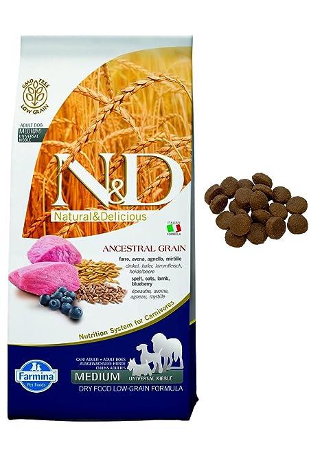 Farmina - Farmina N&D Cordero y Arandano Adult Medium Low Grain - 1069 - 12 Kg