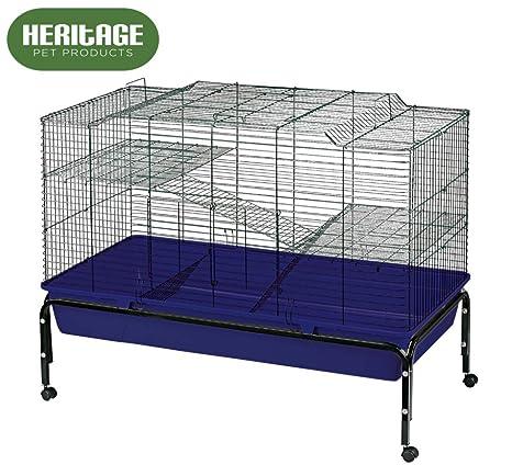 Jaula grande Heritage Cages de 2 pisos para conejo o cobaya, 100 ...