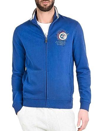 8175a0c50457 NAPAPIJRI uomo felpa con zip N0YG6HB06 BOCHIL PALATINE BLUE S Bluette