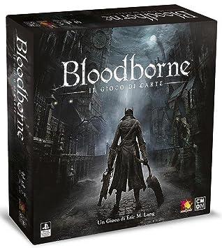 Asmodee Italia Bloodborne, EL Juego de Tarjeta Mesa, Color Negro ...