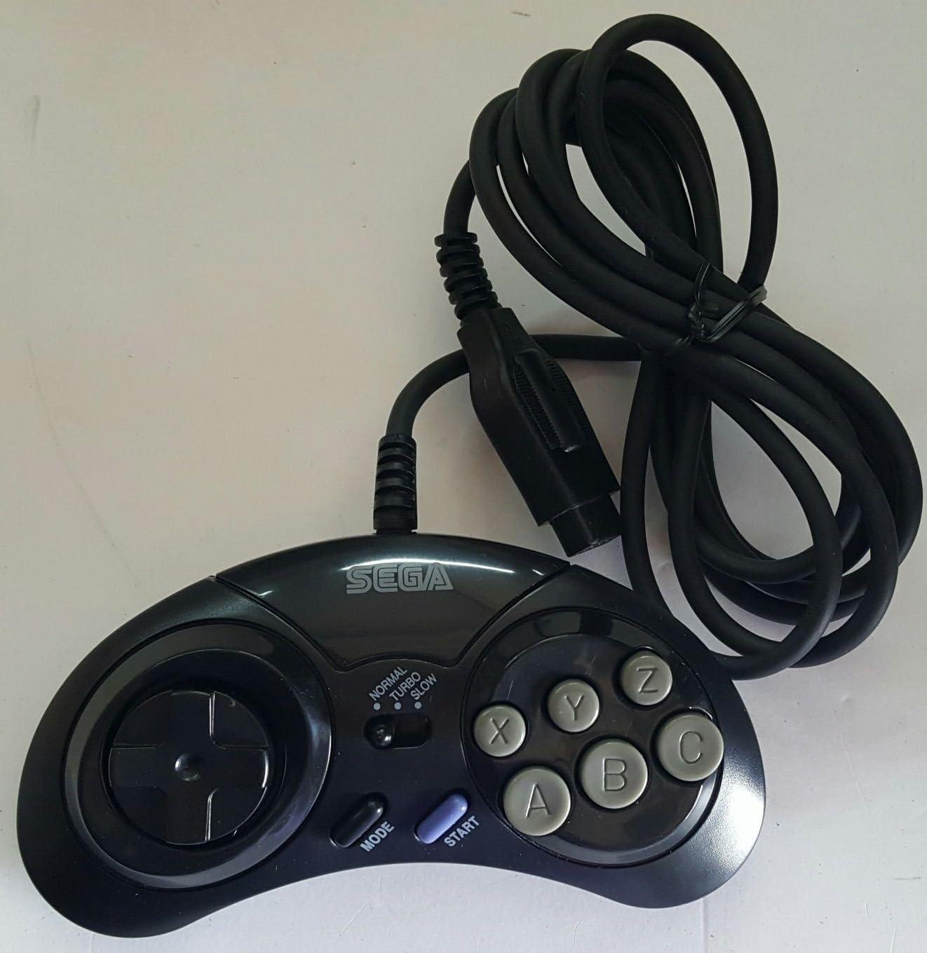 tested Mk-1470 Arcade pad Vintage game Controller Sega Genesis 6 Button Turbo Controller Original