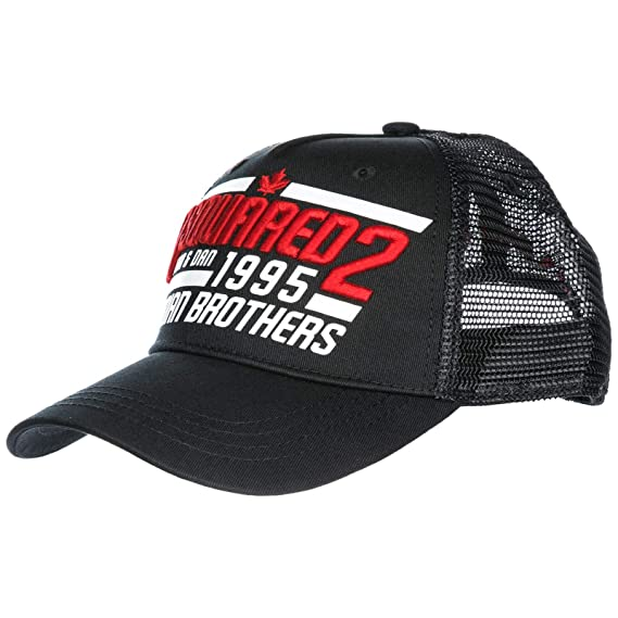 8e39ae5b3 Dsquared2 adjustable men's cotton hat baseball cap Canadian Brothers ...