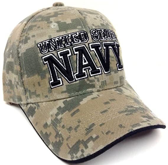 Text United States Navy Digital Camo Camouflage Hat Cap at Amazon ... f9b5fe35e8f