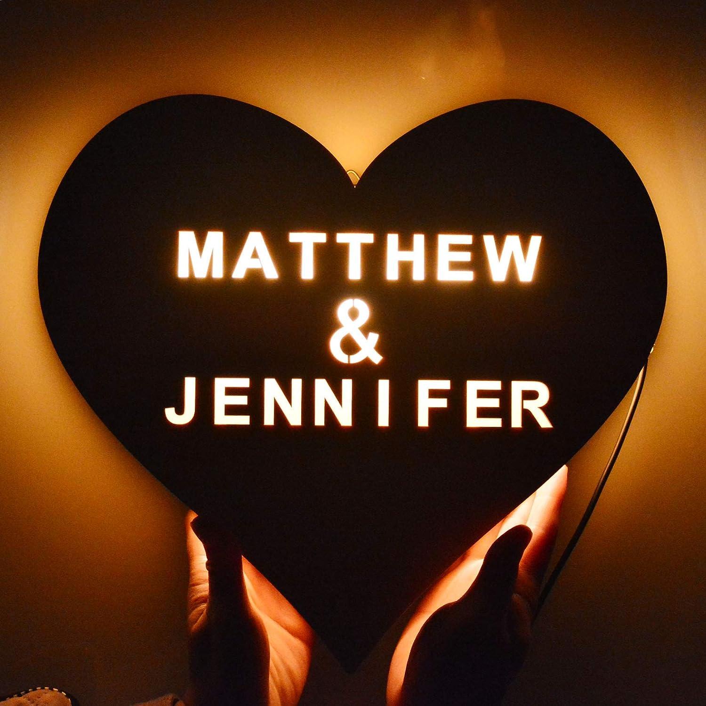 Love Heart LED Night Light