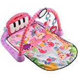 Amazon Price History for:Fisher-Price Kick and Play Piano Gym, Pink