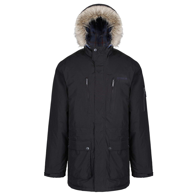 Regatta Herren Funktions Jacke mit Kapuze, Wasserdicht und