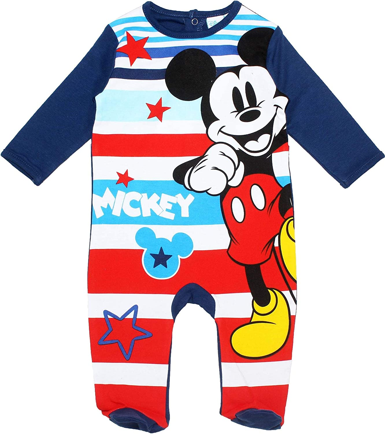 White Shirt /& Navy Blue Shorts Set for Baby Boys Mickey Mouse /& Friends Disney