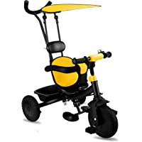 LuvLap Grand Baby Tricycle Yellow