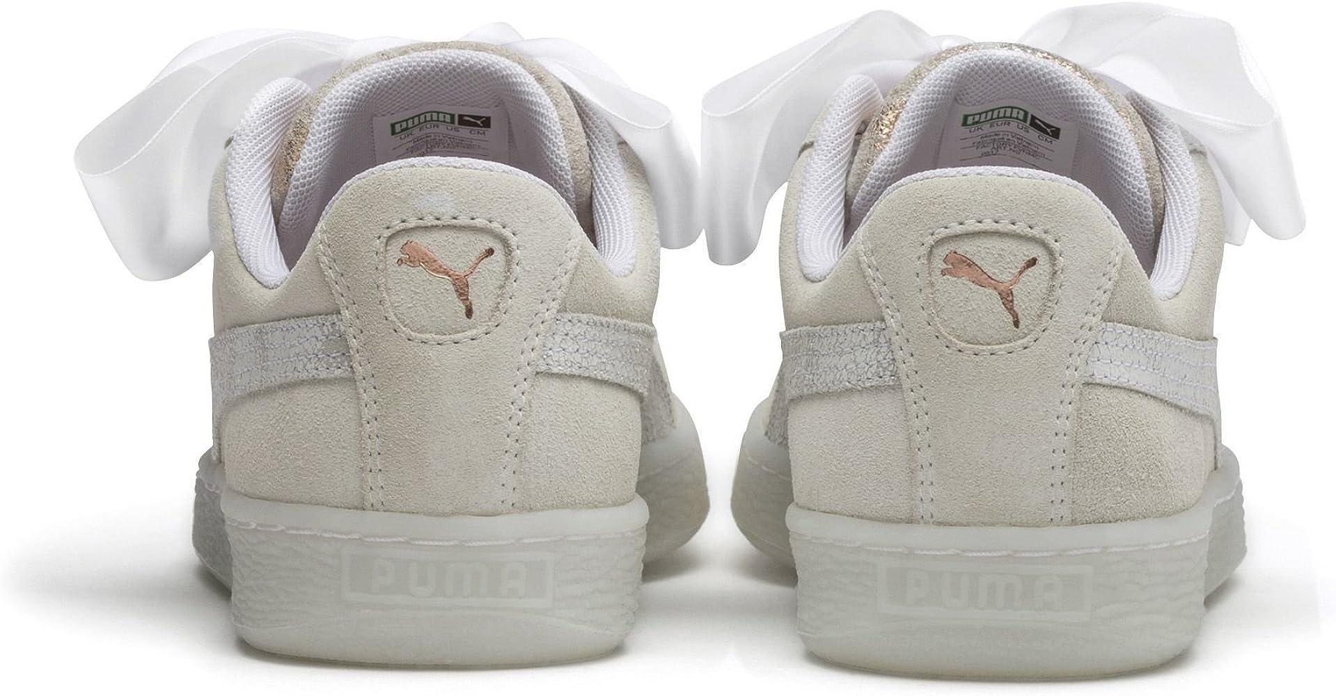 f14f5ada7 puma sneakers suede heart artica weiß damen
