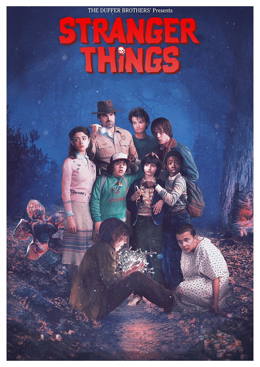 Instabuy Posters Stranger Things (O) - A3 (42x30 cm): Amazon ...