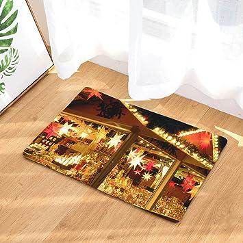 Christmas Area Rugs 8 X 10.Amazon Com Clearance Tuscom Christmas Floor Entrance Door