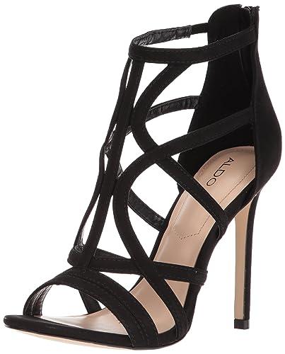 13b339279b8c ALDO Women s TIFANIA Heeled Sandal Black 10 ...