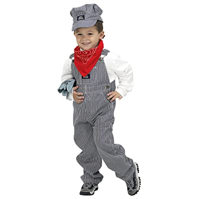 Aeromax Jr. Train Engineer Suit with Cap and Accessories, Size 2/3: Toys & Games