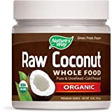 Nature's Way Raw Coconut Whole Food Pure & Unrefined Cold Pressed Organic, 16 Oz., 16 Fluid Ounce