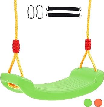 Dreamon Columpios Infantiles de Jardin - Plástico Columpio de Exterior Árbol para Niños Bebe (Verde): Amazon.es: Juguetes y juegos