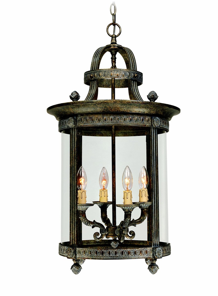 World imports 1604 63 chatham collection 4 light hanging interior world imports 1604 63 chatham collection 4 light hanging interior lantern french bronze ceiling pendant fixtures amazon aloadofball Gallery